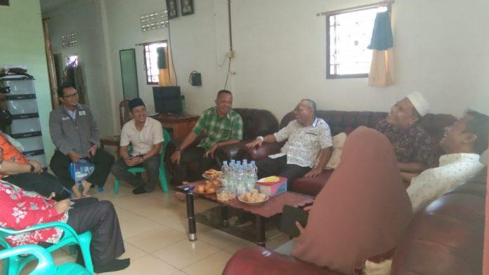 Anton Saragih Berkunjung ke Rumah Ketua PD Al Wasliyah Simalungun