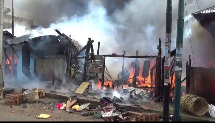 14 Rumah di Padangsidimpuan Hangus Terbakar